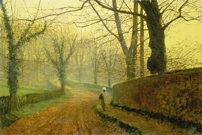 Autumn in Stapleton Park, 1891-John Atkinson Grimshaw-Giclee Print