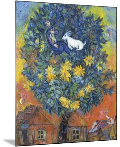 Autumn in the Village-Marc Chagall-Mounted Print