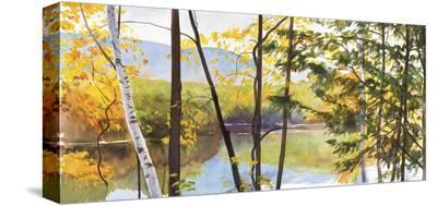 Autumn Lake IV-Elissa Gore-Stretched Canvas Print
