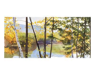 Autumn Lake IV-Elissa Gore-Art Print