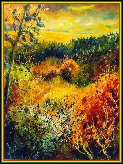 Autumn Landscape Albole-Pol Ledent-Art Print