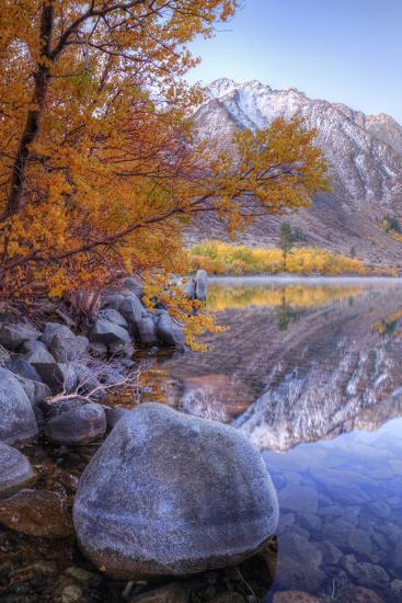 Autumn Landscape at June Lake-Vincent James-Photographic Print