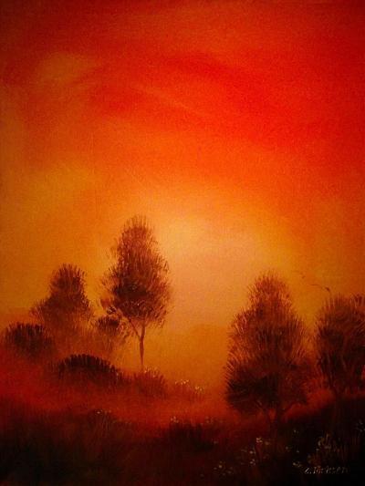 Autumn Landscapes-Cherie Roe Dirksen-Giclee Print