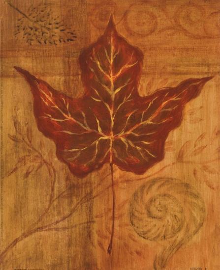 Autumn Leaf I-Marcia Rahmana-Art Print