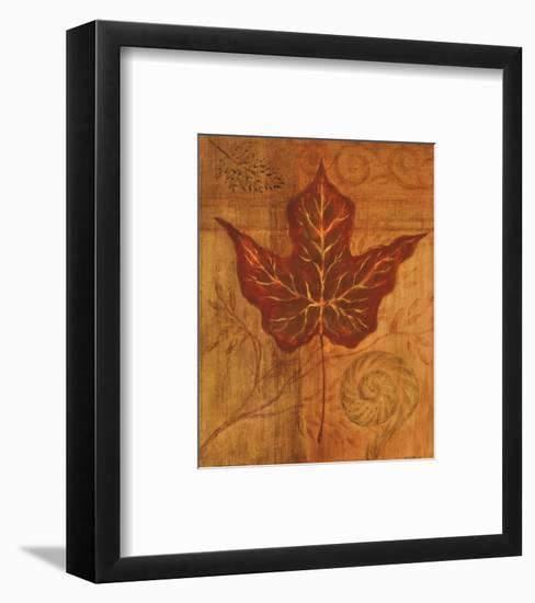 Autumn Leaf I-Marcia Rahmana-Framed Art Print