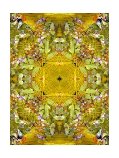 Autumn Leaf Ornament VI-Alaya Gadeh-Art Print
