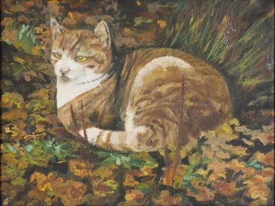 Autumn Leaves, 2002-Margaret Hartnett-Giclee Print