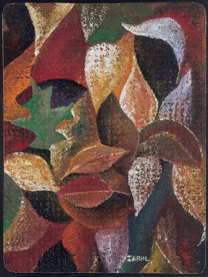 Autumn Leaves-Ikahl Beckford-Giclee Print