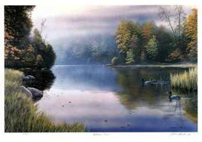 Autumn Mist-J. Vanderbrink-Limited Edition