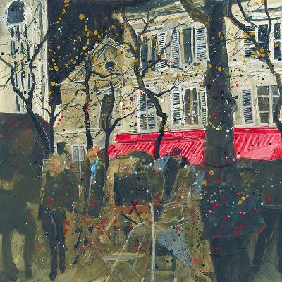 Autumn, Montmartre, Paris-Susan Brown-Giclee Print
