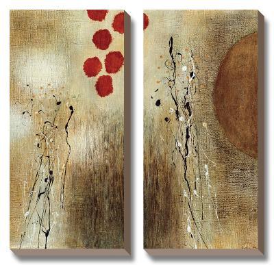 Autumn Moon II-Heather Mcalpine-Canvas Art Set