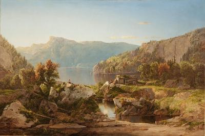 Autumn Morning on the Potomac, c.1860s-William Sonntag-Giclee Print