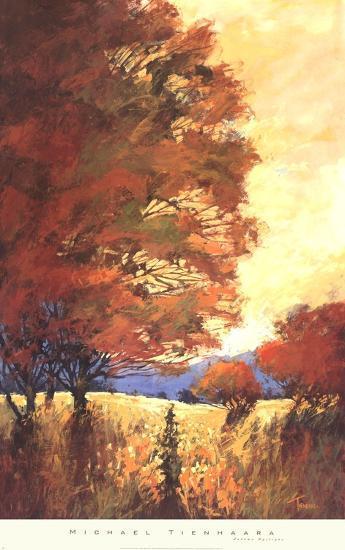 Autumn Mystique-Michael Tienhaara-Art Print