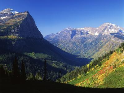 Autumn Near Logan Pass, Glacier National Park, Montana, USA-Adam Jones-Photographic Print