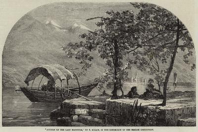 Autumn on the Lago Maggiore-Frank Dillon-Giclee Print