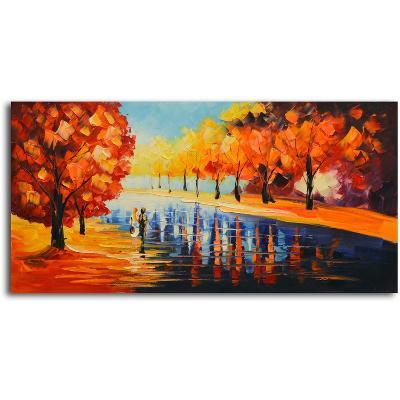 Autumn Paradise--Hand Painted Art