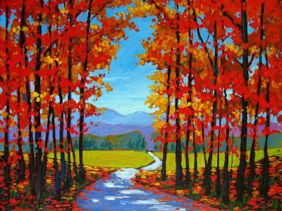 Autumn Path III-Patty Baker-Art Print