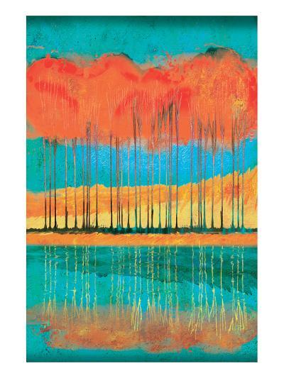 Autumn Pond-Toy Jones-Art Print