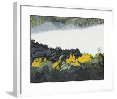Autumn Rays at Dawn-Gaetan Caron-Framed Giclee Print