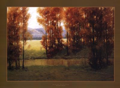 Autumn Reflection-Alan Lund-Art Print