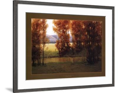 Autumn Reflection-Alan Lund-Framed Art Print