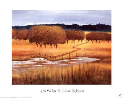 Autumn Reflections-Lynn Welker-Art Print