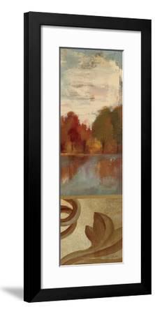 Autumn River Panel III-Silvia Vassileva-Framed Art Print