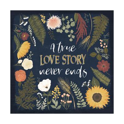 Autumn Romance V-Laura Marshall-Art Print