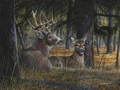 Autumn Royalty-Kevin Daniel-Art Print