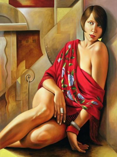 Autumn Ruby, 2006-Catherine Abel-Giclee Print