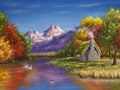 Autumn's Perfection-Chuck Black-Giclee Print