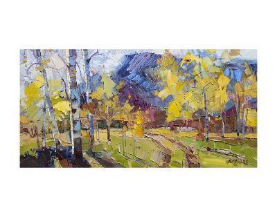 Autumn?s Welcome-Robert Moore-Art Print