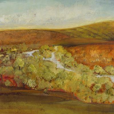 Autumn Saffron II-Jill Martin-Art Print