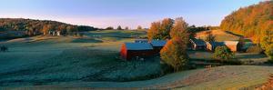 Autumn Scene of Vermont Farm