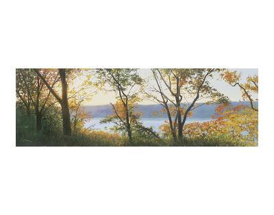 Autumn Scrim-Elissa Gore-Art Print