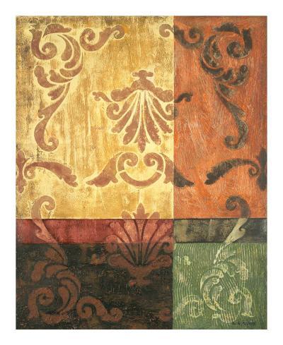 Autumn Sequence I-Jodi Reeb-myers-Art Print