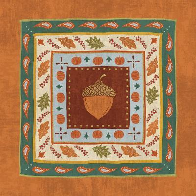 Autumn Song Tiles IV-Veronique Charron-Art Print