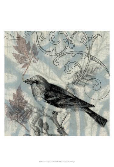Autumn Songbird II-Jennifer Goldberger-Art Print