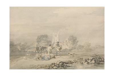 Autumn Sowing of the Grain, C.1794-J^ M^ W^ Turner-Giclee Print