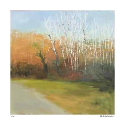 Autumn Stroll-David Skinner-Giclee Print