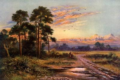 Autumn Sunset, 1911-1912-J Maurice-Giclee Print