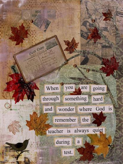 Autumn Test-Let Your Art Soar-Giclee Print