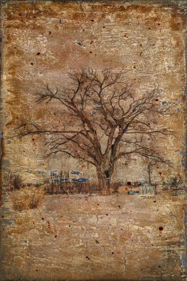 Autumn Tree Duo-LightBoxJournal-Giclee Print
