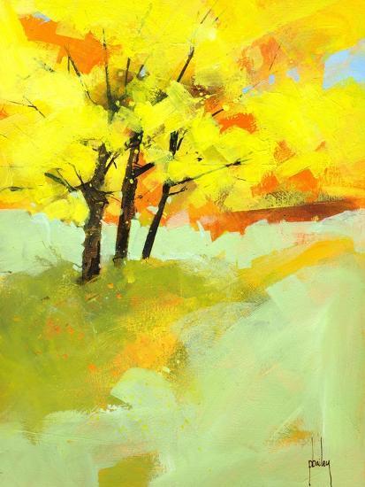 Autumn Trio-Paul Bailey-Art Print