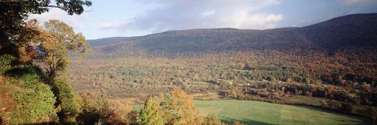 Autumn View from Hildene, Manchester, Vermont, USA-Walter Bibikow-Photographic Print