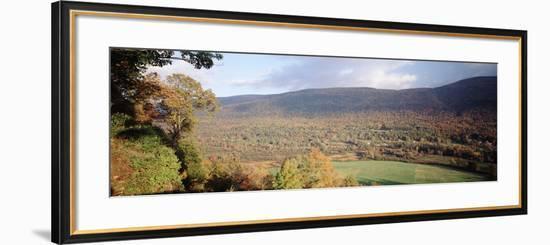 Autumn View from Hildene, Manchester, Vermont, USA-Walter Bibikow-Framed Photographic Print