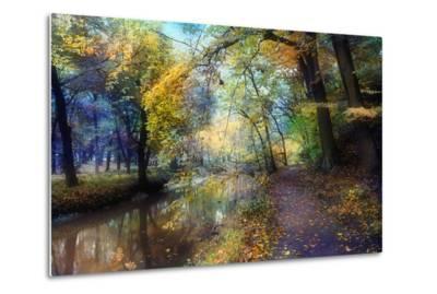 Autumn Walk-John Rivera-Metal Print