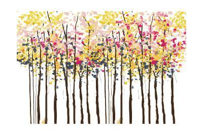 Autumn Woods-Sara Berrenson-Art Print