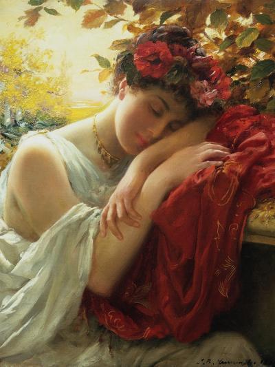 Autumn-Thomas Benjamin Kennington-Giclee Print