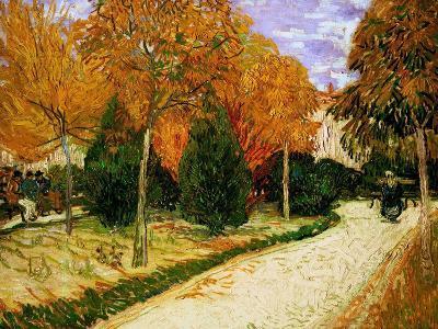 'Autumnal Garden' or 'The Public Park', 1888-Vincent van Gogh-Giclee Print